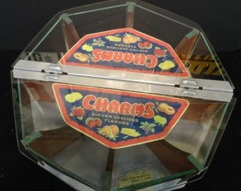 Vintage Charms Candy Store Display Advertising