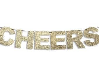 CHEERS Banner, Cheers Garland, Wedding garland, Wedding banner, Wedding decoration