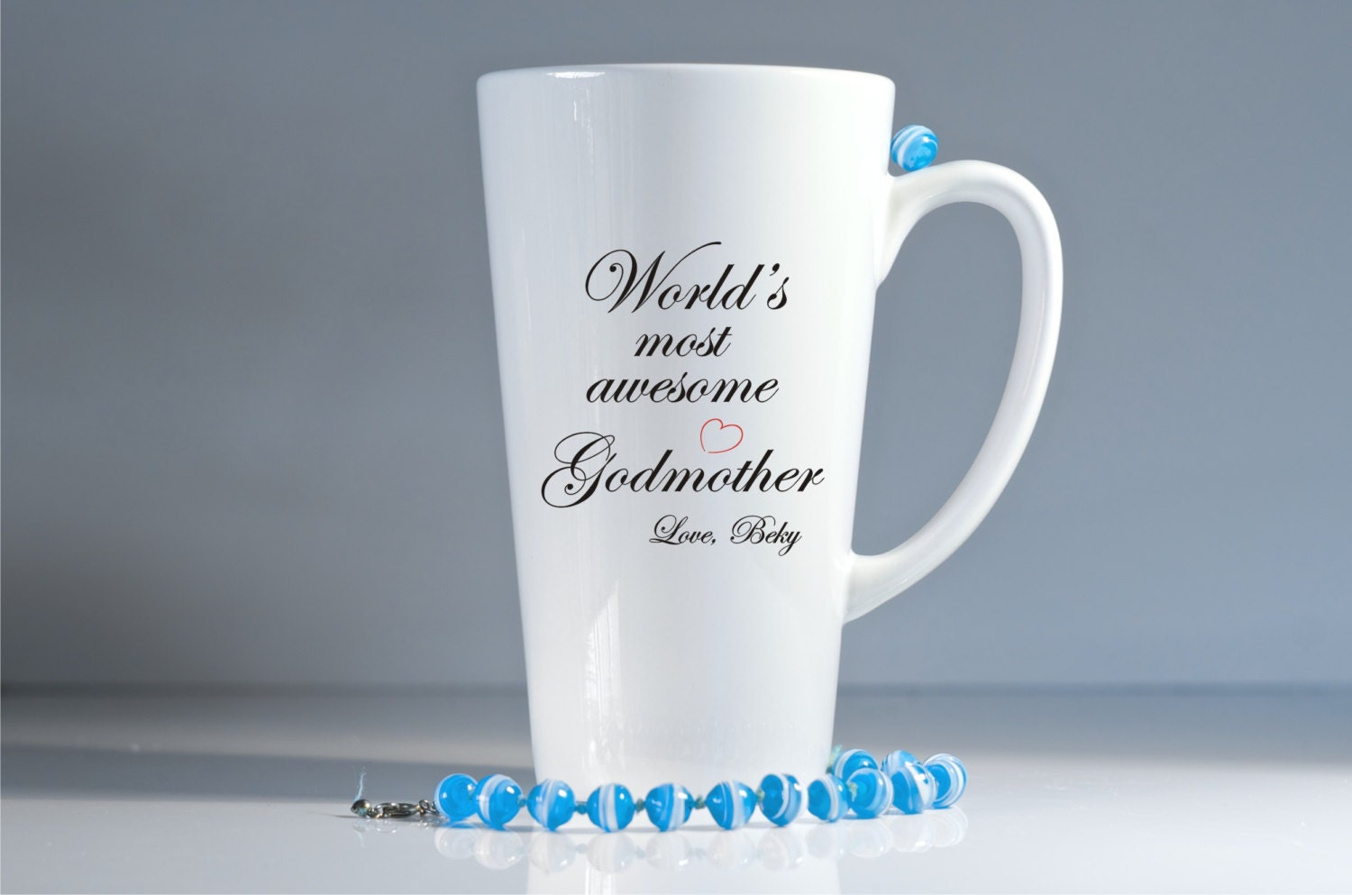 Godmother Gift Godparent Gift Personalized Gift For: Personalized Godmother Mug-Godparents Gift-Godmother