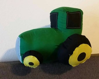 John Deere Tractor: A cuddly rig for your little farmer