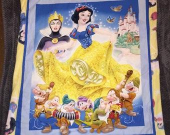 Princess Snow blanket reversible