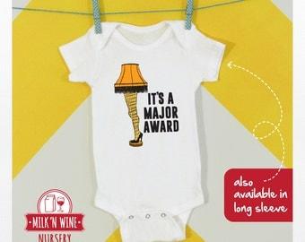 Christmas Story Leg Lamp Major Award, Baby, Onesie®, bodysuit, romper, under shirt