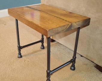 Reclaimed Barn Wood End Table