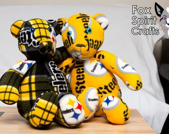 Sports Team Bear Teddy Bear Plush Stuffed Animal Custom OOAK