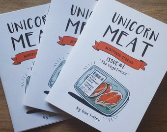 Pre-Order Unicorn Meat Comics (1 Year Subscription)
