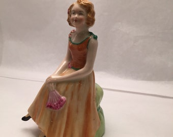 Lady Daisy figurine by W A Goss
