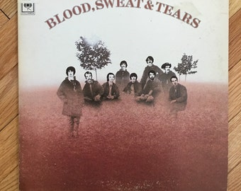 Blood Sweat and Tears vintage vinyl record in very good condition