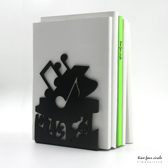 Music Pianos Bookend Modern And Minimalistic Style