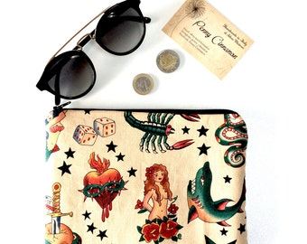 Zipper Pouch brings everything!