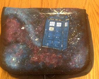Doctor Who Canvas Messenger Bag