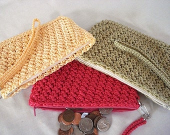 Charming Coin Purse Crochet Pattern
