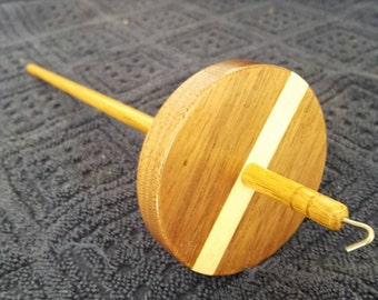 Walnut and Poplar Drop Spindle