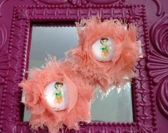 Mulan Inspired Hair Clip Set