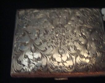 Vintage silver (800) cigarette case