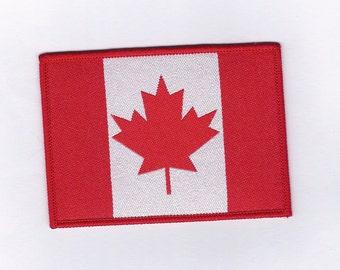 Vintage Canadian Flag - Biker Patch