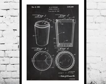 Instant download coffee brewer patent coffee brewer patent coffee cup patent coffee cup poster coffee cup blueprint coffee cup print malvernweather Gallery