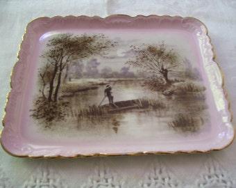 Limoge Dresser Tray Limoge Dresser Plate Limoge A K Vintage