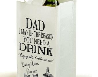 Dad Wine bag