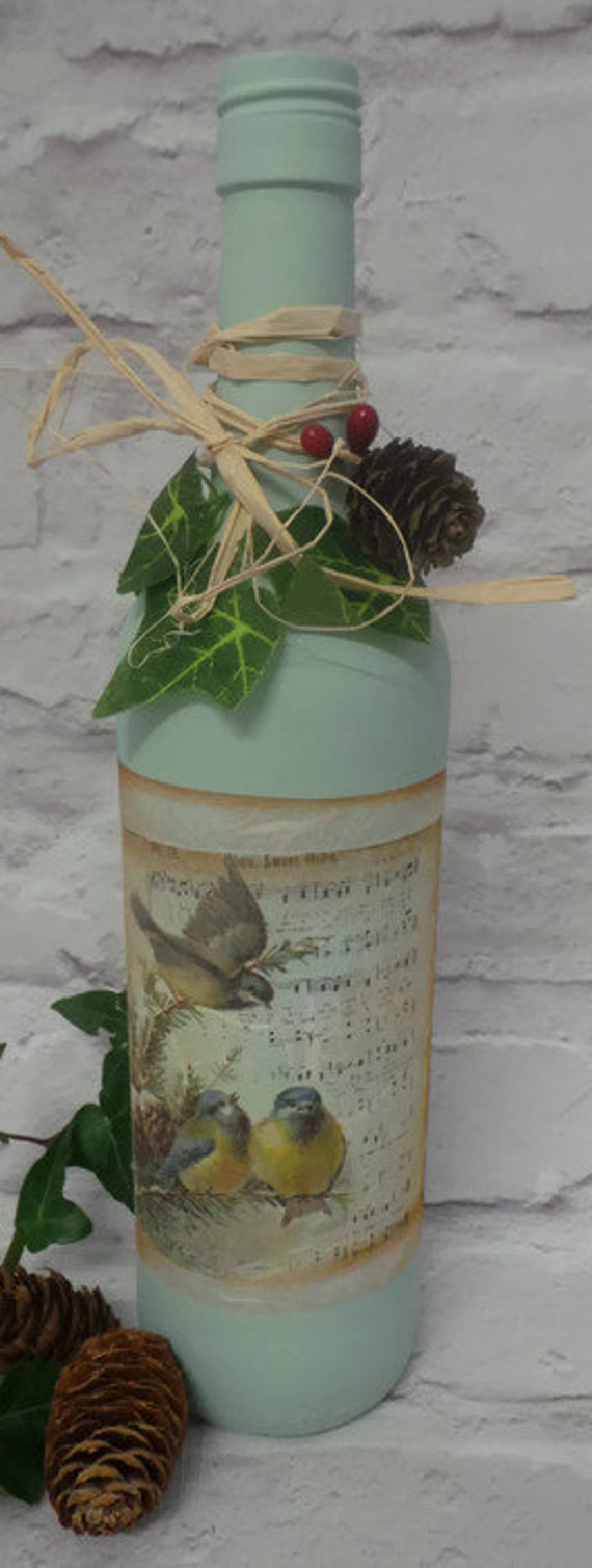 sale decorated wine bottle christmas wine bottles by