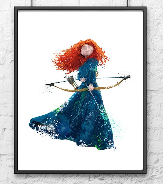 brave watercolor by bezawesome - photo #5