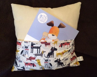 Storybook Cushion 'Dogs'