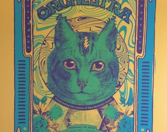 Dark Star Orchestra Official Hand-Printed Gigposter