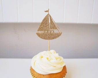Sailboat Cupcake Toppers