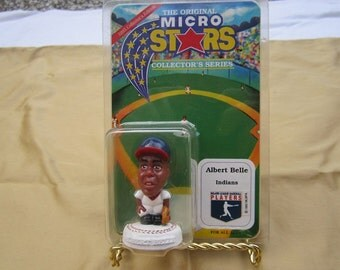 The Original Micro Stars-Albert Belle-Cleveland Indians-Never Been Opened!