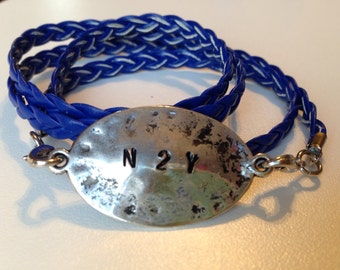 "Never Too Young ""N2Y"" Wrap Bracelet"