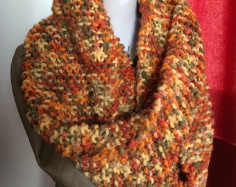 Earth Colours Infinity Scarf