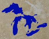 Great Lakes Coasters set of 4