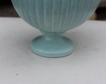 SOLD!!!  Vintage Haeger Blue Footed Bowl