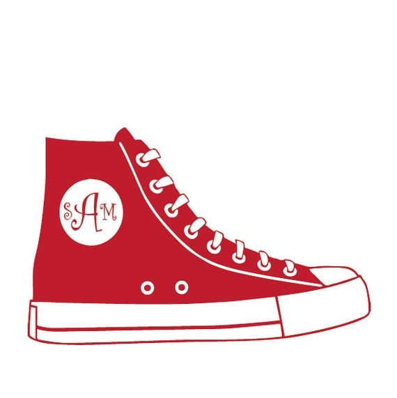 f7315d697251f5 ... Shoebox Decals  Items Similar To Converse Decal Converse Sticker Shoe