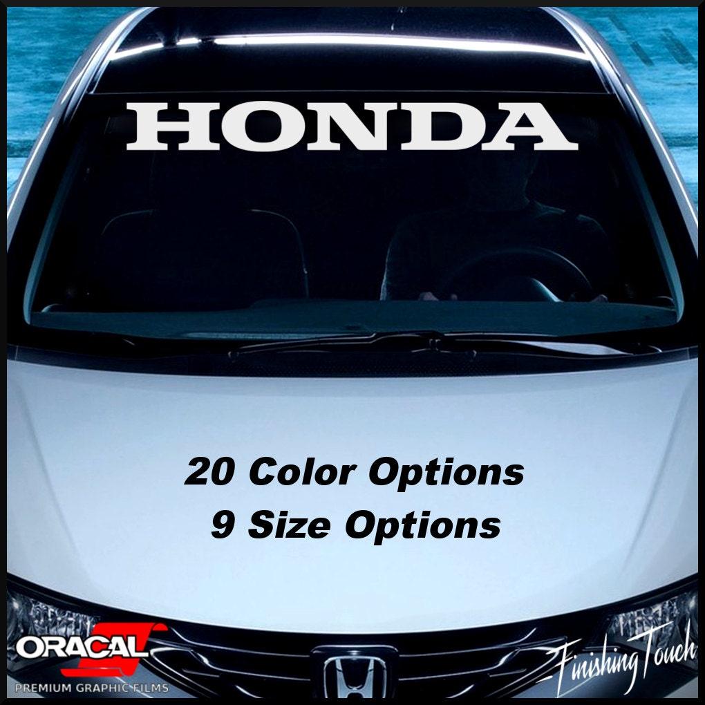 Car glass sticker design -  Zoom