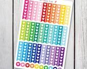 Heart Checklist Planner Stickers Designed for Erin Condren Life Planner Vertical