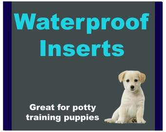 Water Resistant Inserts Add On | Water Resistant Dog Bed Insert | Water resistant dog bed