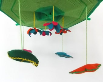 Baby Crib Mobile - Baby Mobile - Butterfly Mobile ,Nursery Mobile
