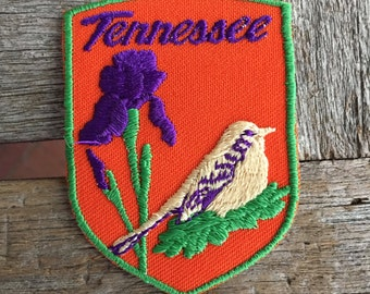 LAST ONE! Tennessee Vintage Souvenir Travel Patch from Voyager - New In Original Package
