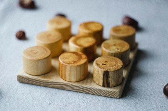 Baby Peg Toys : Wooden peg board toy montessori baby by mamumabird