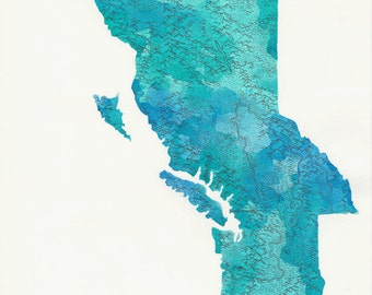 Cascadia - Features map