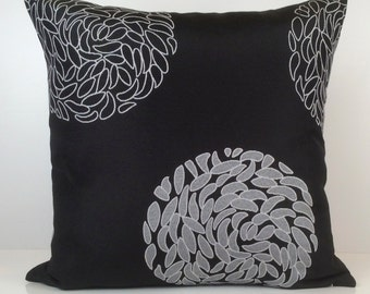 Black And Beige Decorative Pillows : Black and Beige Pillow Throw Pillow Cover Decorative Pillow