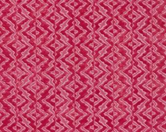 SCALAMANDRE ETHNIC CHIC Echo Velvet Fabric 10 Yards Raspberry