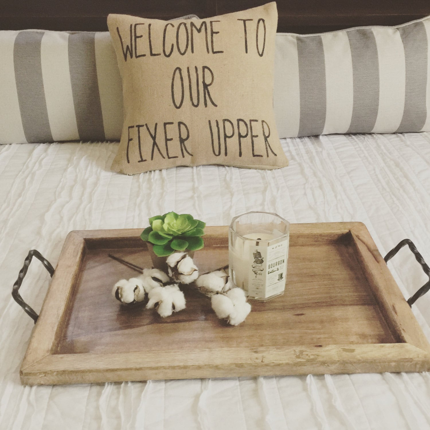 Welcome To Our Fixer Upper|Pillow Cover