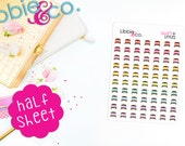 Libbie's Littles Beds Life Planner Die-Cut Stickers!  Perfect for Erin Condren, Happy, Mambi, Plum Paper and Personal Planners! LL56