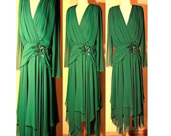 Women's dress, maxi dress, evening dress, long dress, vintage dress, sequin dress, formal dress, chiffon dress, prom dress, ladies dress, 12