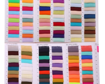 Color swatches by China EMS 10-20 days