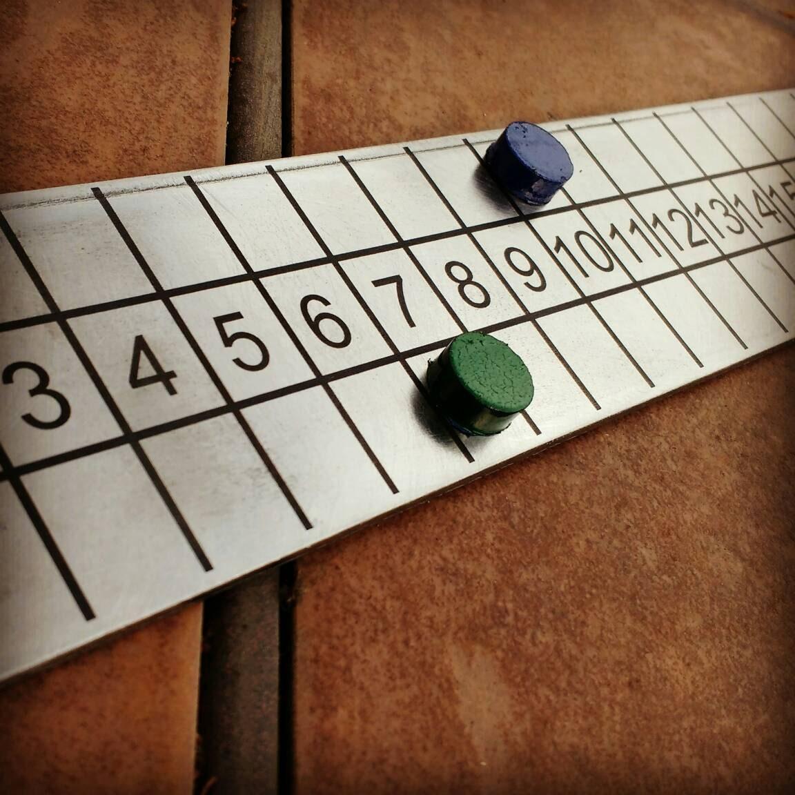 board score board game outdoor backyard steel