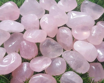 Rose quartz crystal tumblestone, Rose Quartz Crystal, Rose Quartz Stone