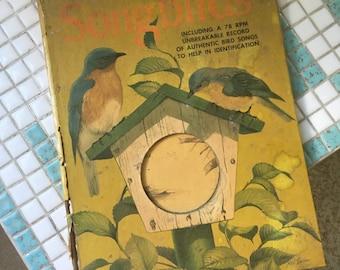 1950s Vintage Book of Songbirds