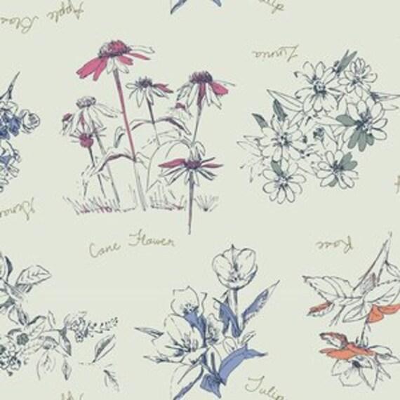 Boppy Cover >> Sketchbook Floral in Navy >> Boppy Newborn Lounger Nursing Pillow >> MADE-to-ORDER floral boppy, magenta flower boppy MIX